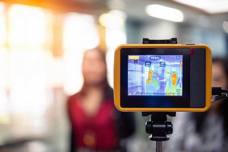 Le contrôle d'accès thermique : contrôler la températures des visiteurs pour assurer la sûreté des lieux